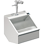 PALUXY 24 INCH TROUGH URINAL W/FLUSH VALVE