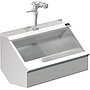 PALUXY 36 INCH TROUGH URINAL W/FLUSH VALVE
