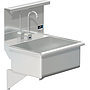 BLANCO 22 X 16 SCRUB UP SINK DECK W / SENSOR FAUCET / SHELF