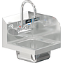 COMAL 9 x 9 x 5 HANDSINK SPACE SAVER WITH WALL FAUCET END SPLASH RIGHT