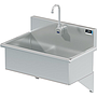 BLANCO 28 X 16 SCRUB UP SINK WALL W / ELECTRONIC FAUCET